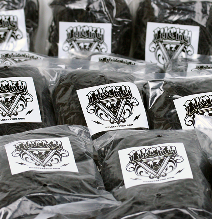 Lucky 13 elastics are back in stock.