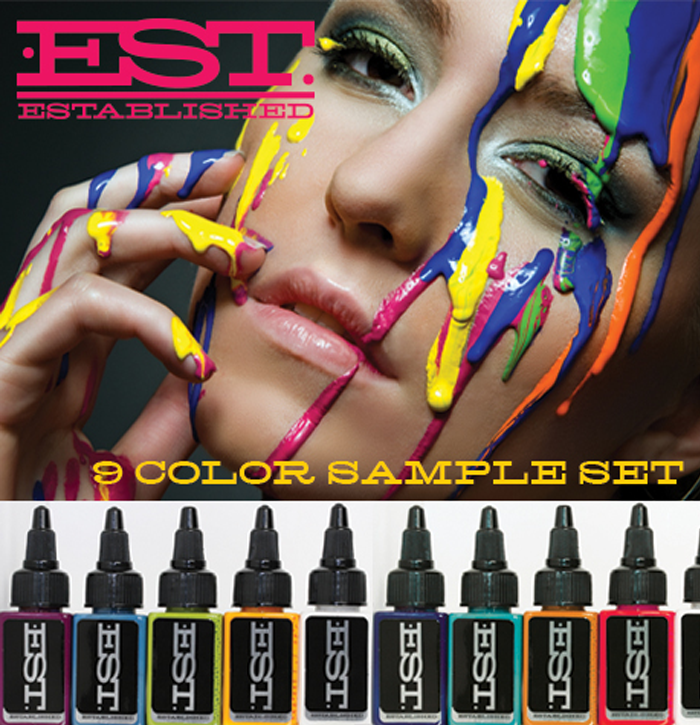 Established Ink Sample Set – 9 Colors