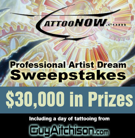 TattooNOW Tattoo Artist Sweepstakes Is Awesome