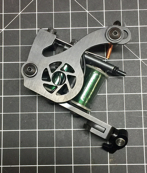 Precision Tattoo Machines and Parts