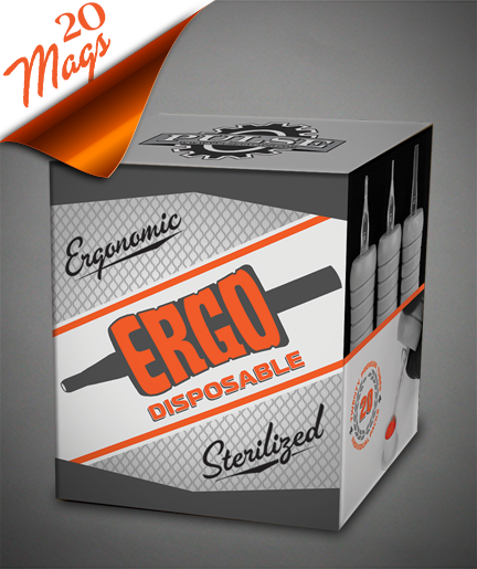 Ergo CLOSED Mag Disposable- Box of 20